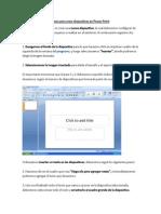 pasos para crear diapositivas en power point