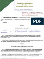 Decreto 5626 de 2005 (Regulamenta a Lei de Libras)