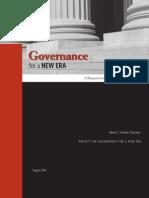 Governance for a New Era