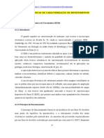 Capítulo 4- Tecnicas de Carcte de Revestimentos Finos