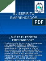 EL ESPIRITU EMPRENDEDOR