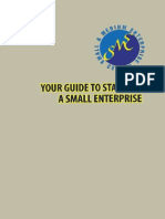 2010 Your Guide to Starting a Small Enterprise