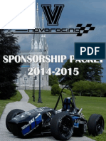 Sponsorship Packet 2014