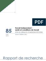 Travail indépendant en Espagne (et transformation du salariat). Quelques notes préliminaires