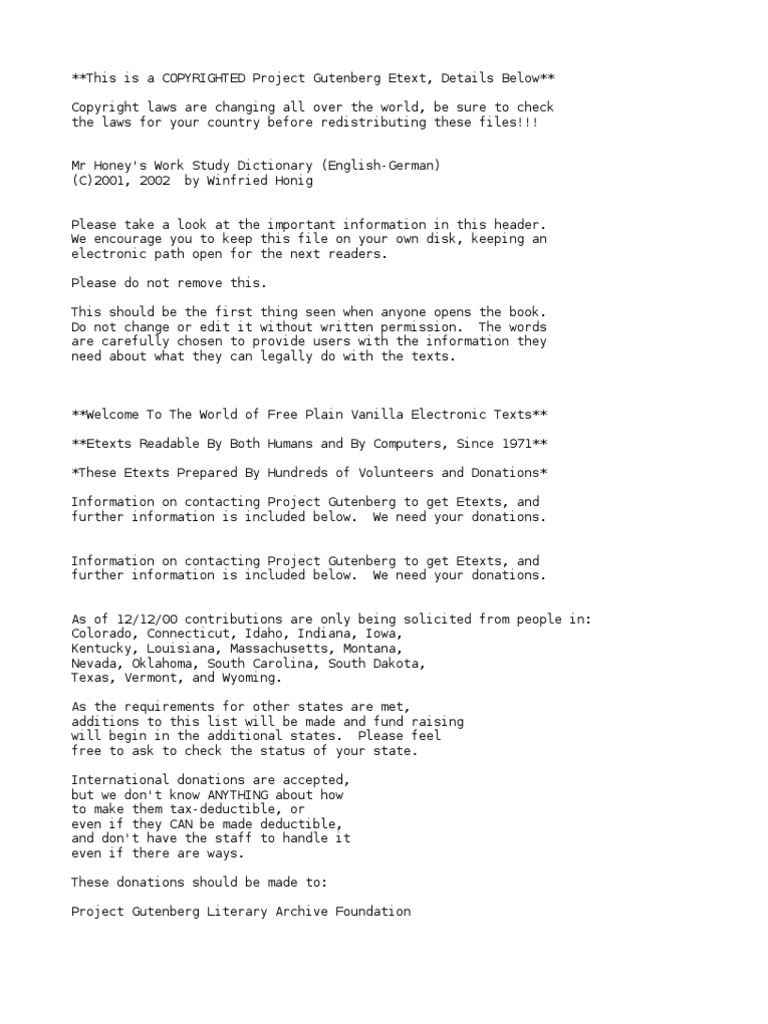 Mr. Honey\'s Work Study DictionaryEnglish-German by Honig, Winfried ...