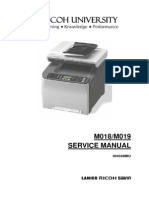 [M018, M019] SP C231SF, Aficio SP C232SF Parts & Service Manual