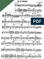 Marcello Giombini - Io Ti Offro (Messa Dei Giovani) - Partitura