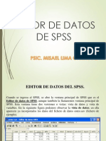 Capitulo 3. Editor de Datos de Spss