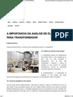 A Importancia Da Análise de Óleo Para Transformador _ Datalink