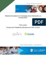 Construcción Plataforma Educativa en La Red Escolar (CHAMILO-HUAYRA)