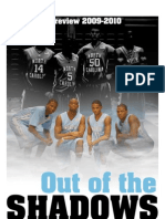 October 22, 2009 - UNC Daily Tarheel Newspaper, Basketball Preview 2009-2010