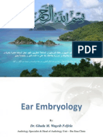 Ear Embryology
