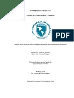 Analisis de Los Recursos de Los Contribuyentes en La Dgi