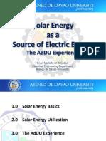 PPT Solar Energy Greenpeace