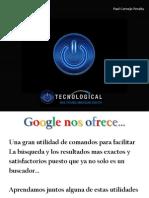 Comandos Google