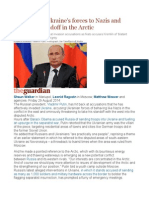 Putin Likens Ukraine's Forces to Nazis and Threatens Standoff in the Arctic