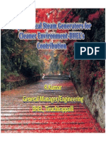 Supercritical Steam Generators for Cleaner Environment