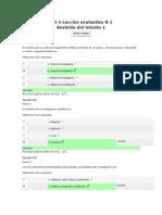 Evaluativa y Quiz Tecnicas de Investigacion