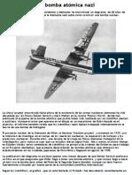 La Bomba Atómica Nazi