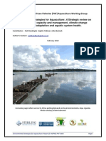Environmental Strategies for Aquaculture