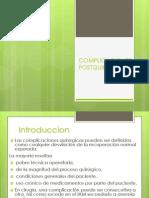 Compllcaciones Posquirurgicas Clase