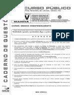 M15 - Médico Anestegiologista - V