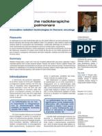 Nuove Tecniche Radioterapiche in Oncologia Polmonare