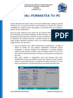 Formateo PC