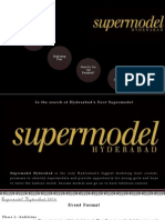 Supermodel Hyderabad Presentation