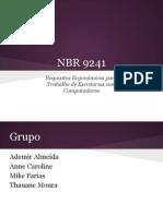 Requisitos Ergonômicos para Trabalho de Escritórios com Computadores (NBR 9241-11)