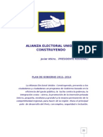 Plan Gobierno Unidos Construyendo 2010