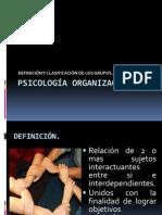 Psicologia Organizacional El Grupo