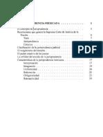 Historia de La Jurisprudencia Mexicana