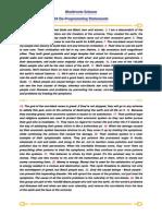 24 de Programming Statements