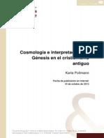 Pollmann 2013 Cosmologia e Interpretacion Del Genesis en El Cristianismo Antiguo IV Conferencia Fliedner