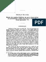 Livio Teixeira Nicolau de Cusa