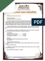 Atairu Aventura Atividades MISSÕES - ForMATADA