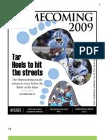 November 2, 2009 - UNC Daily Tarheel Homecoming Publication