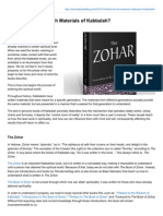 What Are the Research Materials of Kabbalah