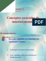 Capitulo 1 Conceptos Esenciales de Macroeconomia