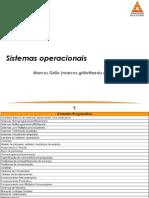 2 - Visão Geral de Sistemas Operacionais