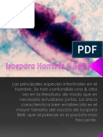 Isospora Hominis & Belli.pptx