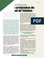AE3 - Analisis de Estructuras 2D Mediante Programas de Estab. de Taludes