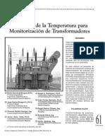 Modelado de La Temperatura Para Monitorizacion de Transformadores
