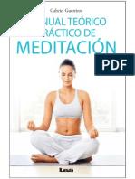 Manual Te Rico Pr Ctico de Meditaci n Nodrm Ep