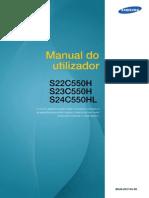Manual Monitor Samsung s22550h