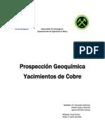 prspeccion geoquimica