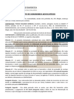 Contrato de Honorários Advocatícios - Thiago Holanda Barbosa(1)