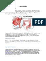 Appendicitis + Appendicectomy