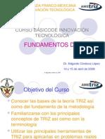 Curso TRIZ 1a Jornada Franco Mexicana